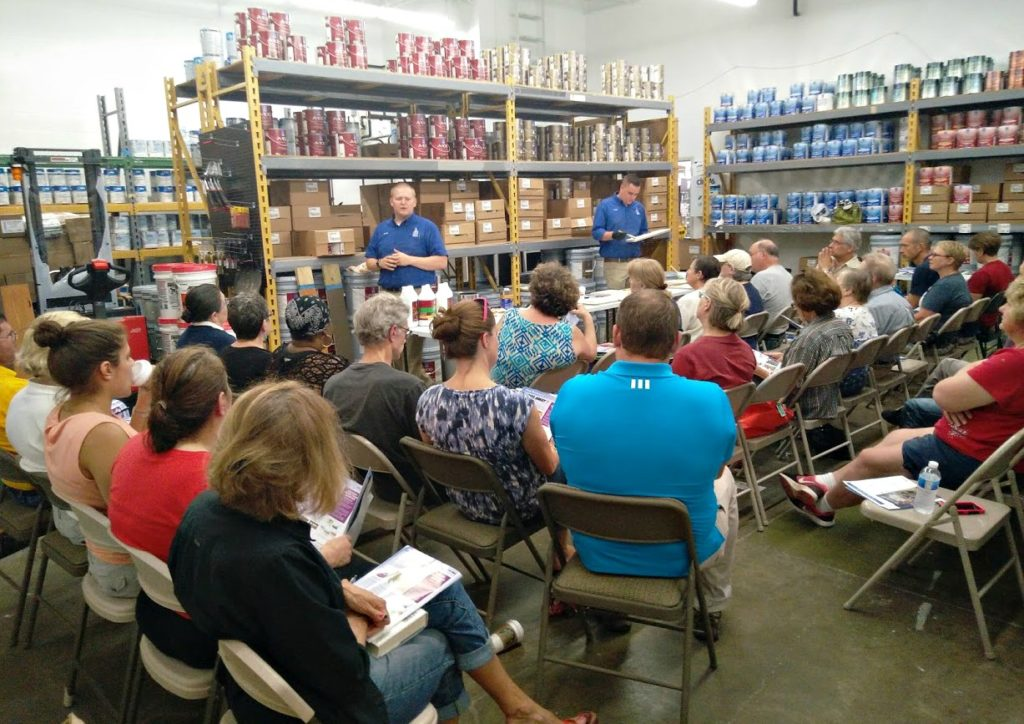 LakewoodAlive Knowing Your Home Woodwork Workshop