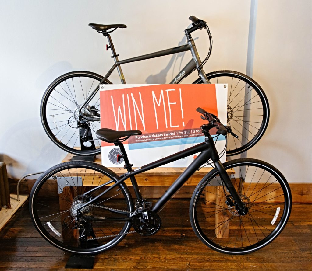 Summer Meltdown Bike Raffle
