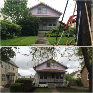 Dowd Avenue volunteer project