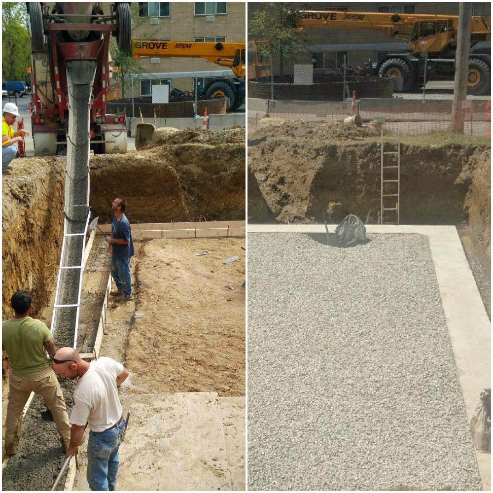 LakewoodAlive's Scenic Park Concrete Pour Lakewood Ohio