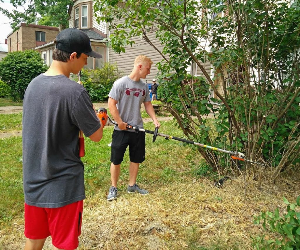 LakewoodAlive Newman Volunteer Project