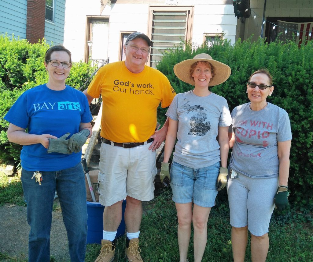 LakewoodAlive Olive Avenue Volunteer Project