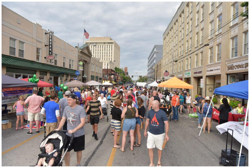 The Lakewood Summer Meltdown drew an estimated crowd of 10,000 to Downtown Lakewood.