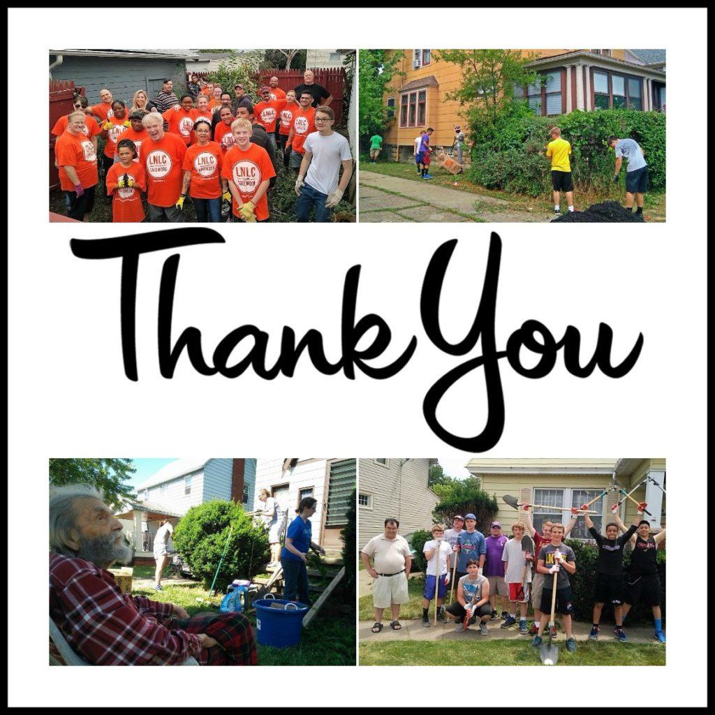 LakewoodAlive Volunteer Thank You