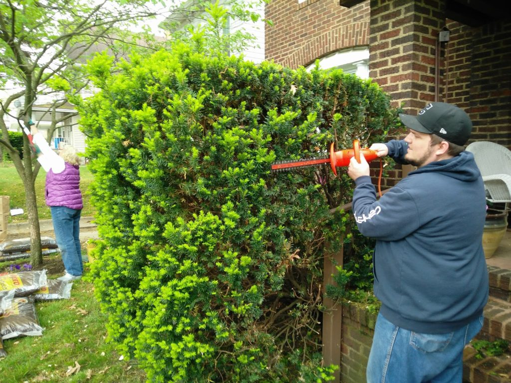 Crossroads Yard Beautification Projects