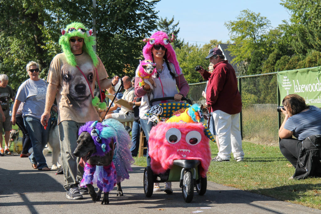 New Activities at LakewoodAlive Spooky Pooch Parade