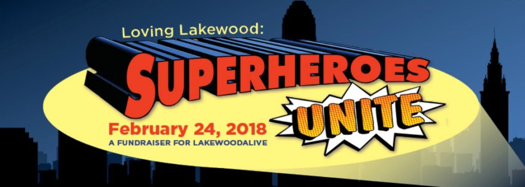 LakewoodAlive Superheroes Unite Banner