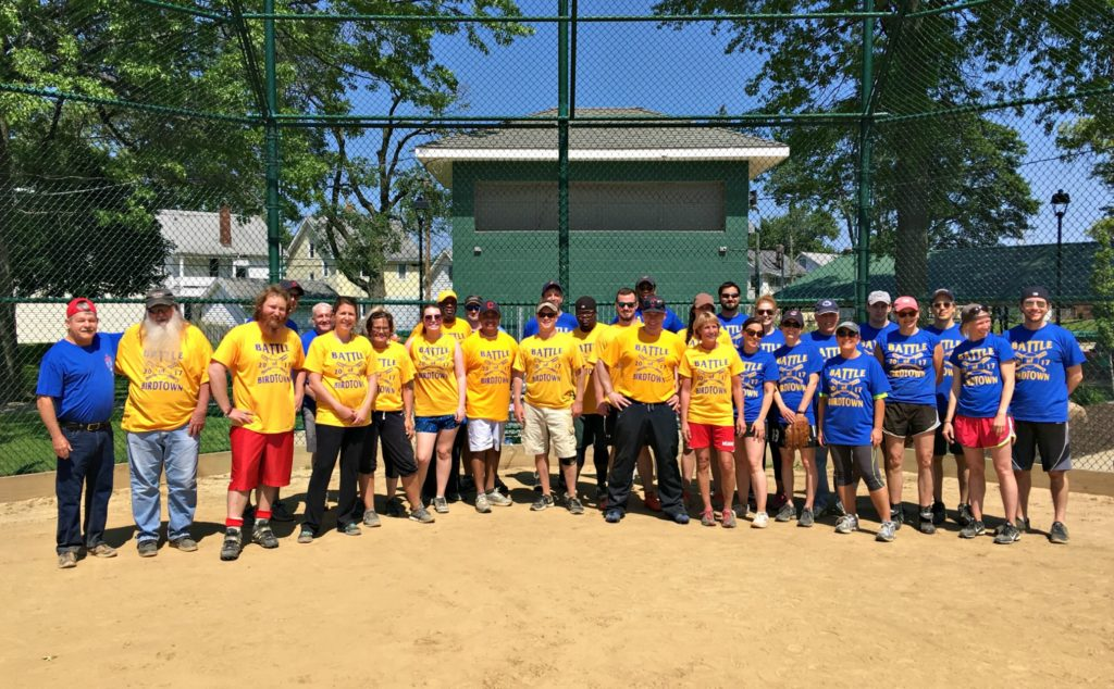 LakewoodAlive Battle of Birdtown Softball Game