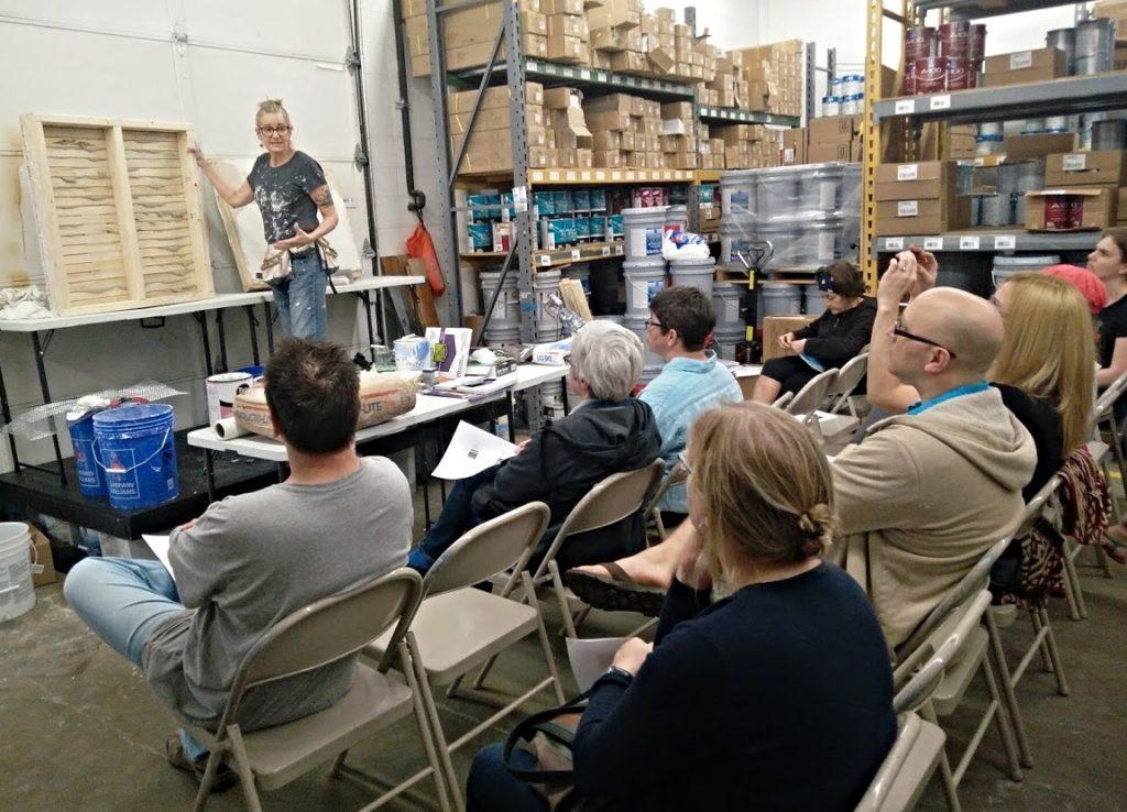 LakewoodAlive Plaster Repair Workshop