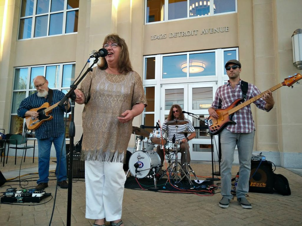 Front Porch Concert Series Becky Boyd
