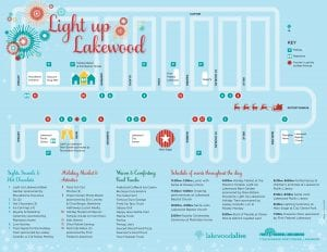 Light Up Lakewood 2019 Map