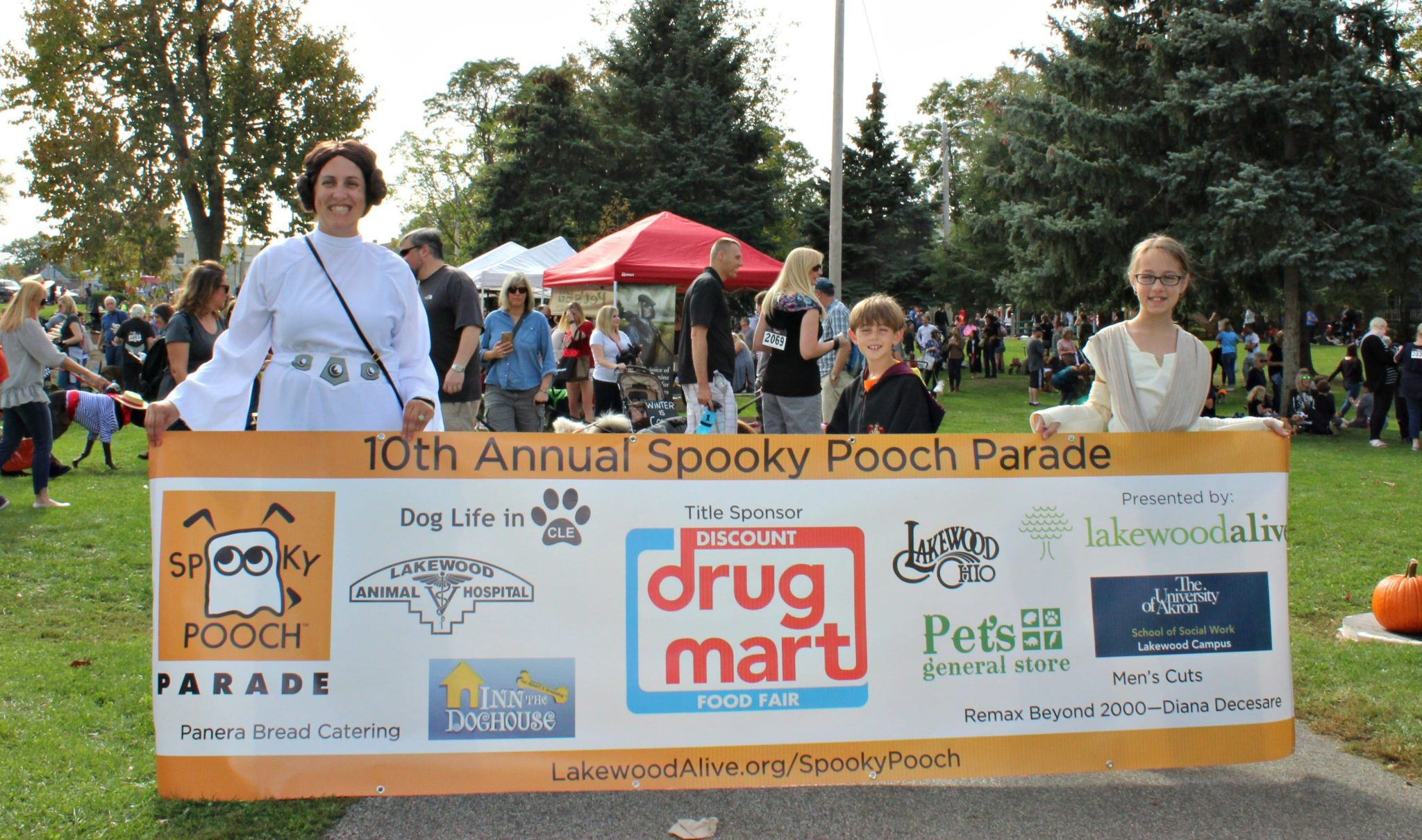 LakewoodAlive Spooky Pooch Parade