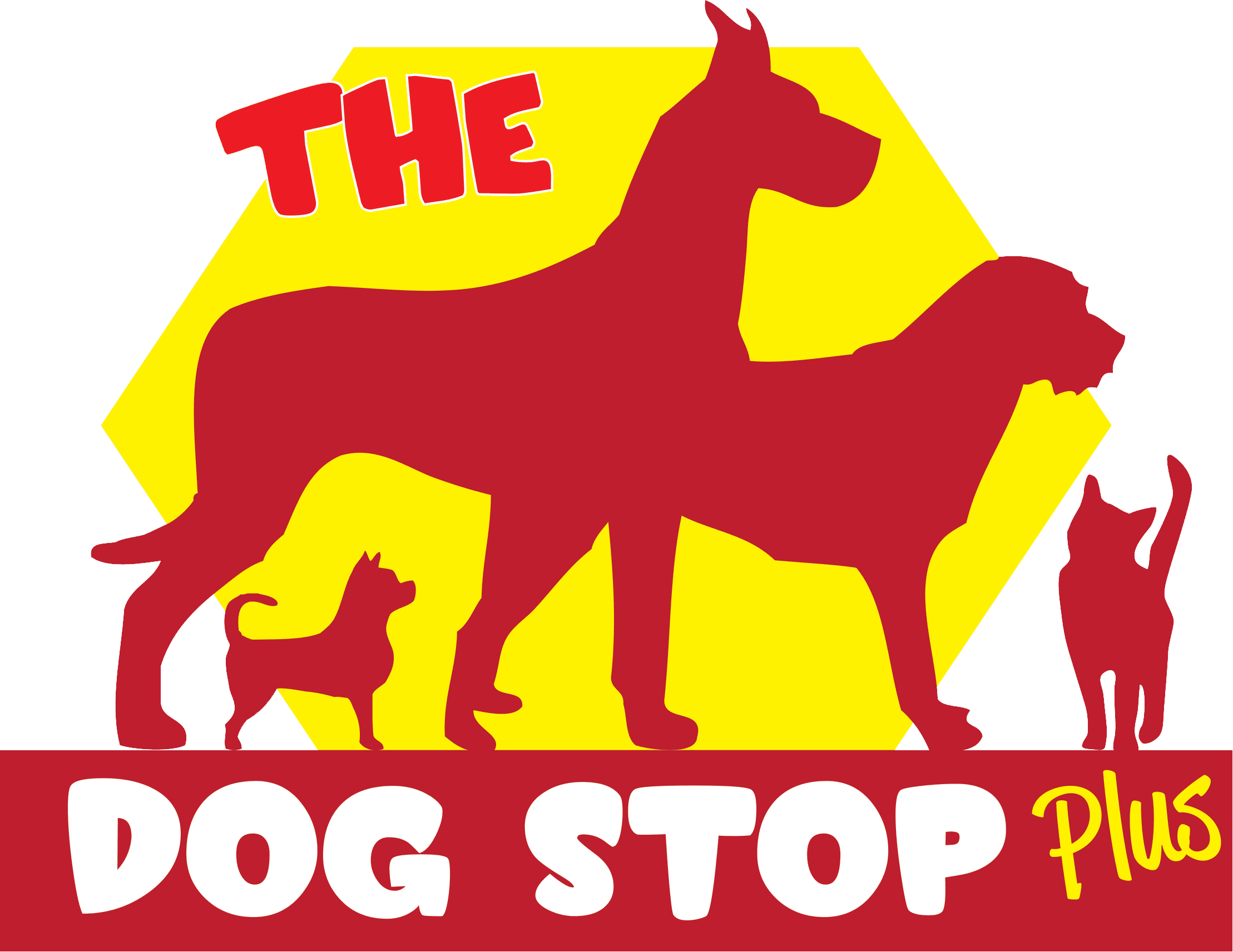 The Dog Stop Plus Logo