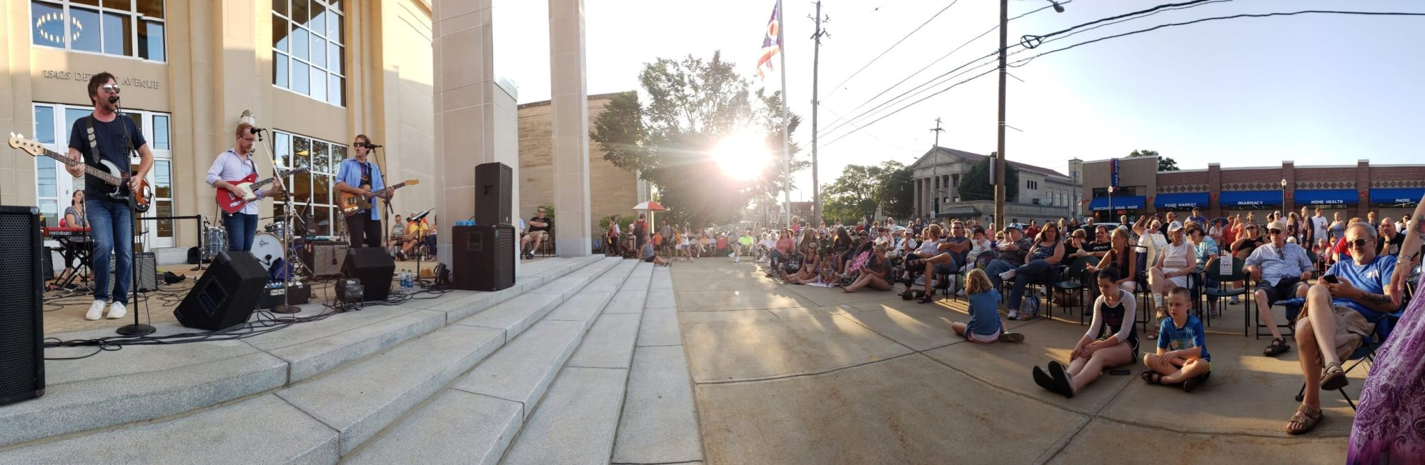 The George Martins at 2019 Front Porch Concert Series