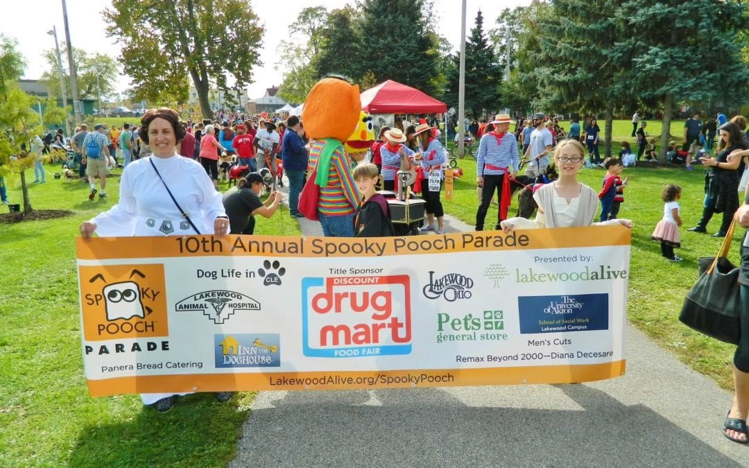 Discount Drug Mart Named Title Sponsor for LakewoodAlive's 11th Annual Spooky Pooch Parade