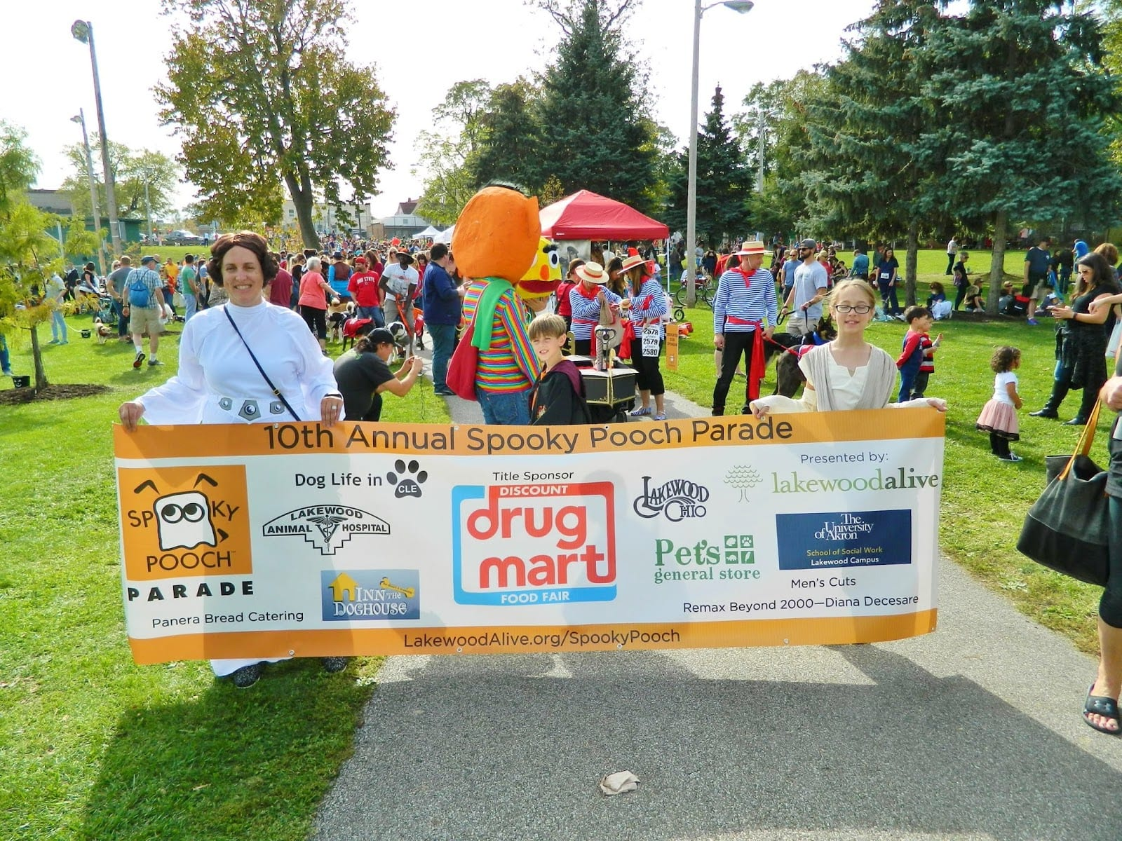 Discount Drug Mart, LakewoodAlive Spooky Pooch Parade