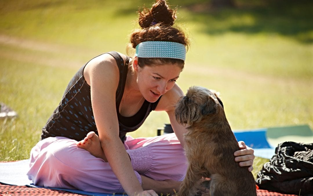Dog Yoga Highlights New Activities at 11th Annual Spooky Pooch Parade