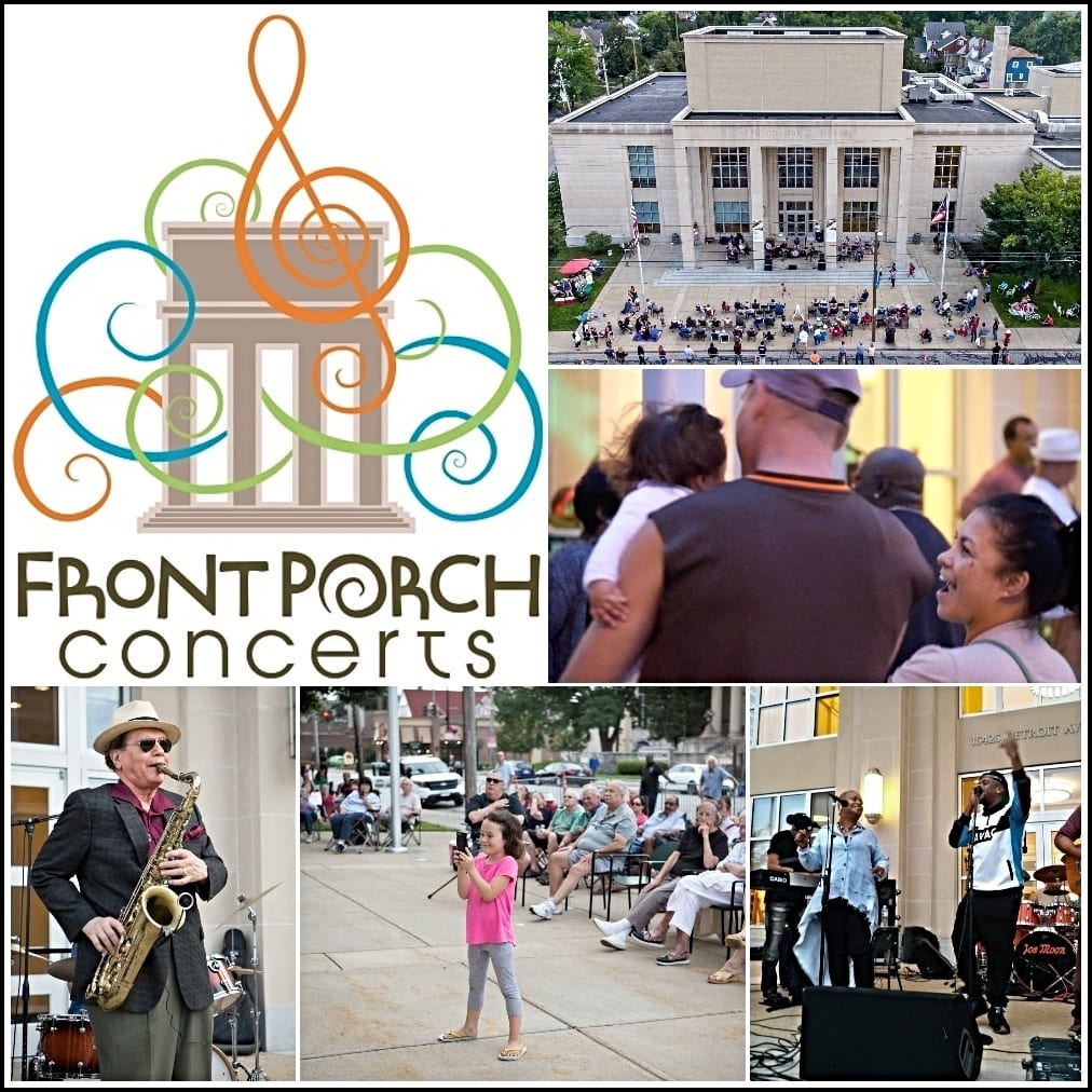2018 Front Porch Concert Series