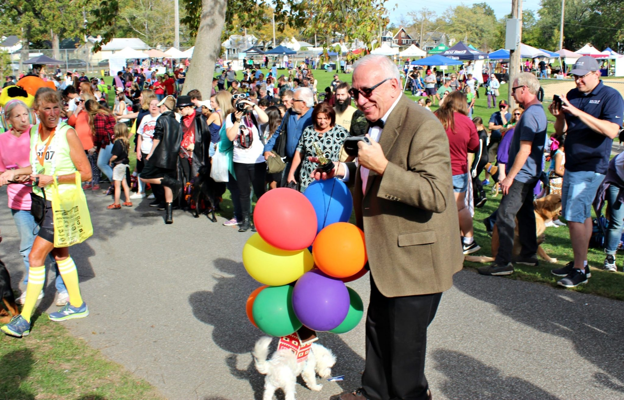 Top Dog at Spooky Pooch Parade