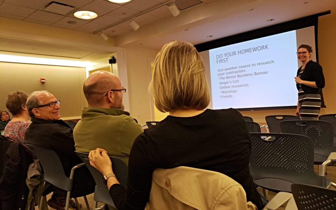 "Five Key Takeaways from LakewoodAlive's ""Knowing Your Home: How to Contract a Repair"" Workshop"