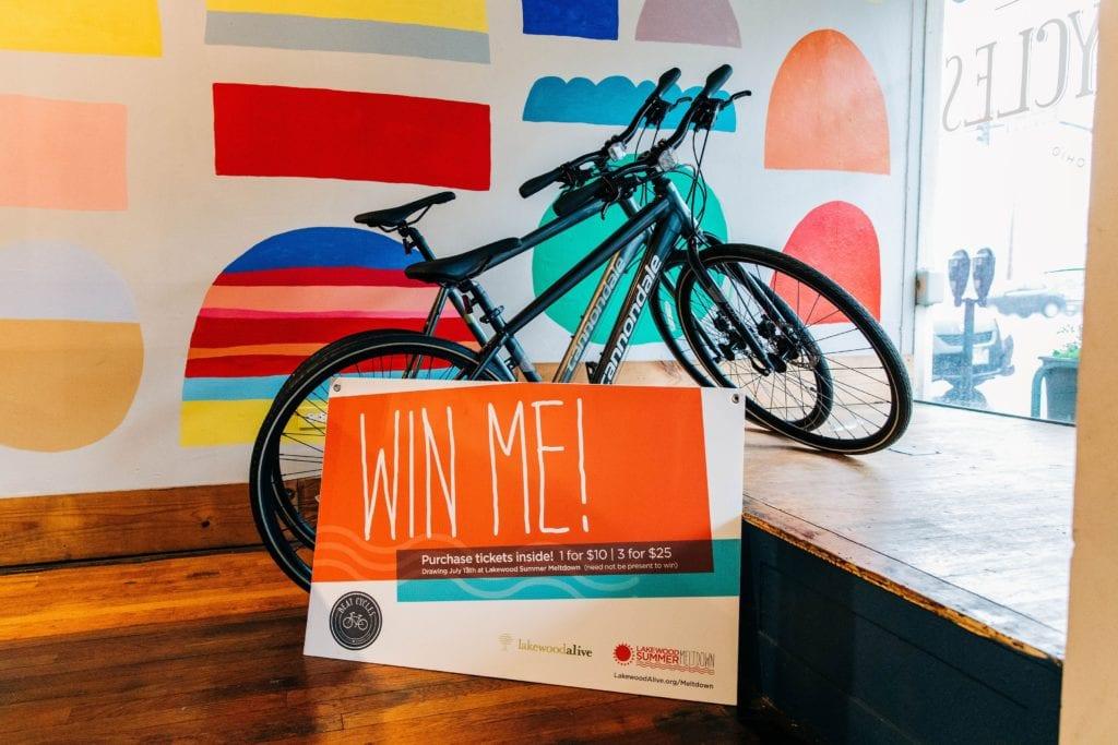 2019 Summer Meltdown Bike Raffle