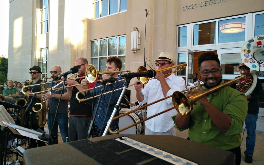 Revolution Brass Band Marches into Front Porch Concert Series this Friday, July 12