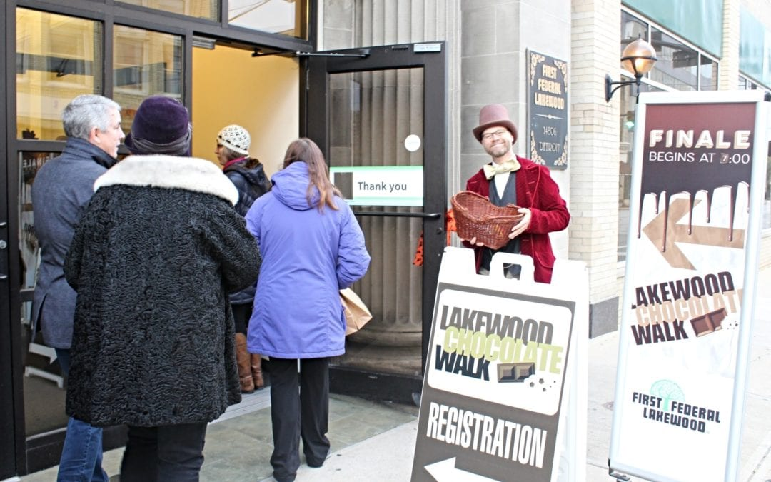 11th Annual Lakewood Chocolate Walk to Delight Taste Buds on October 24