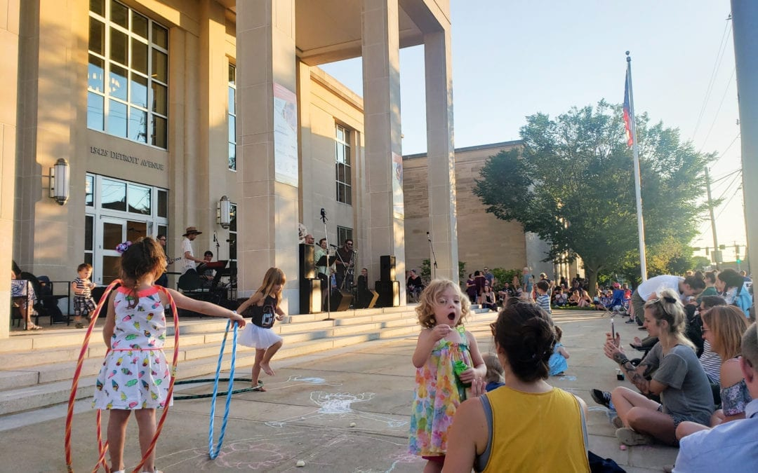 LakewoodAlive's 2019 Front Porch Concert Series Draws Crowds for Free Summer Entertainment