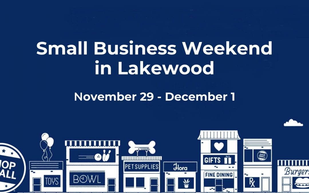 Lakewood to Host Small Business Weekend November 29 – December 1