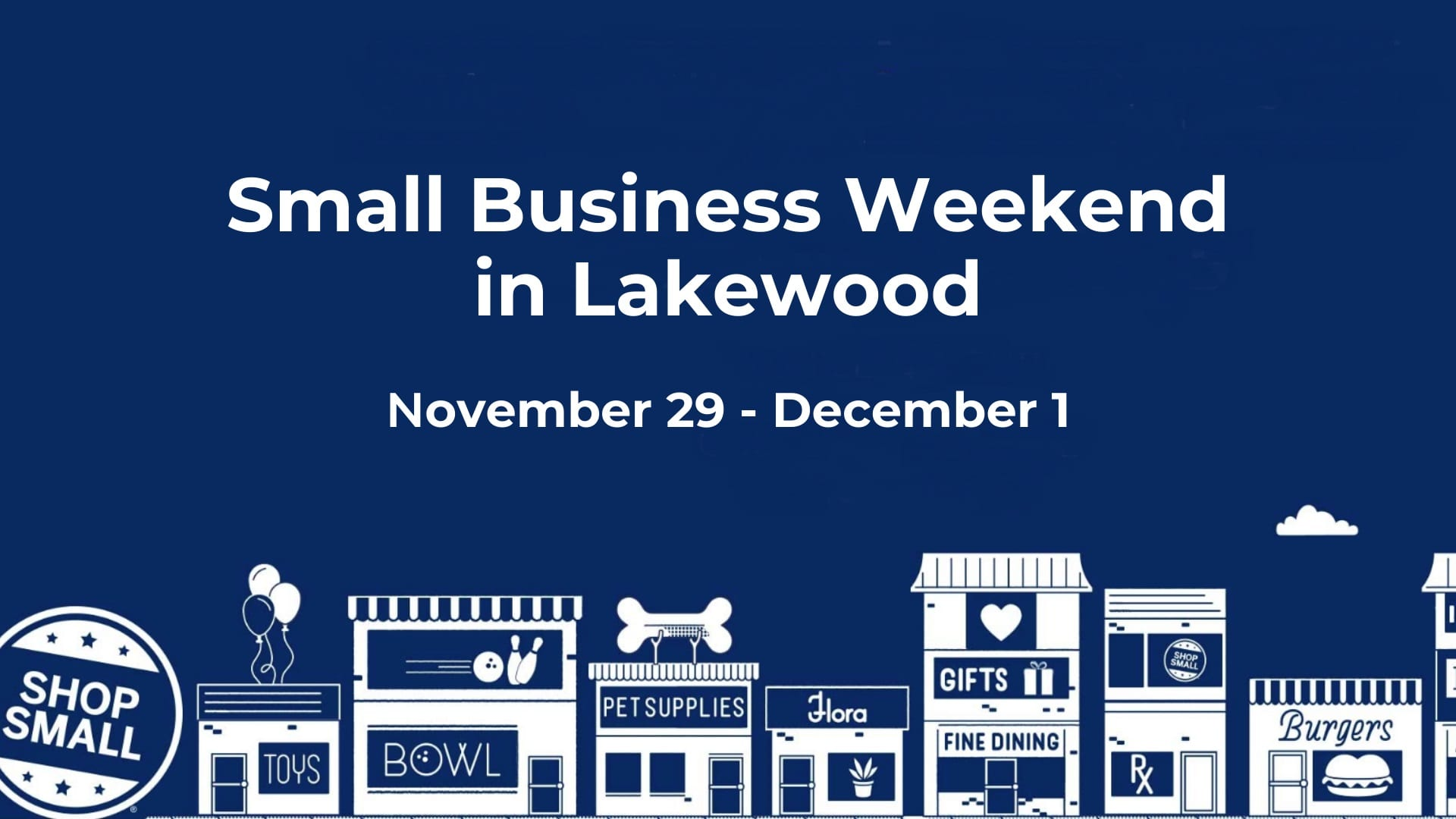 Small Business Weekend in Lakewood