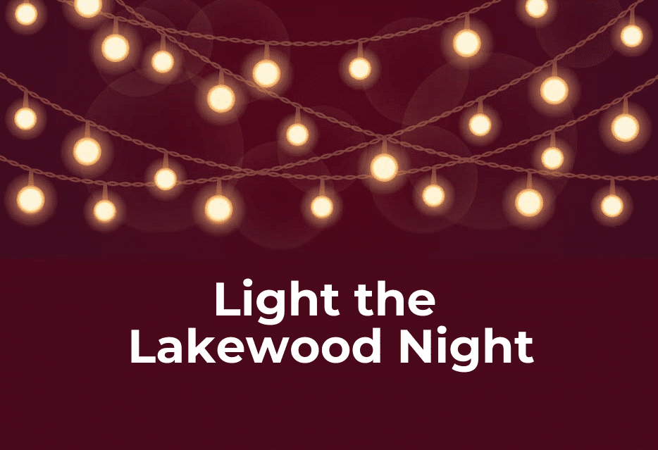 "LakewoodAlive Launches ""Light the Lakewood Night"" Community Solidarity Event"