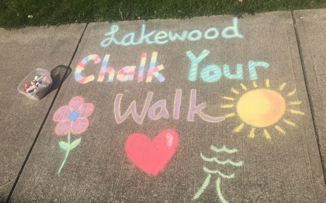 Lakewood Chalk Your Walk Set for This Weekend