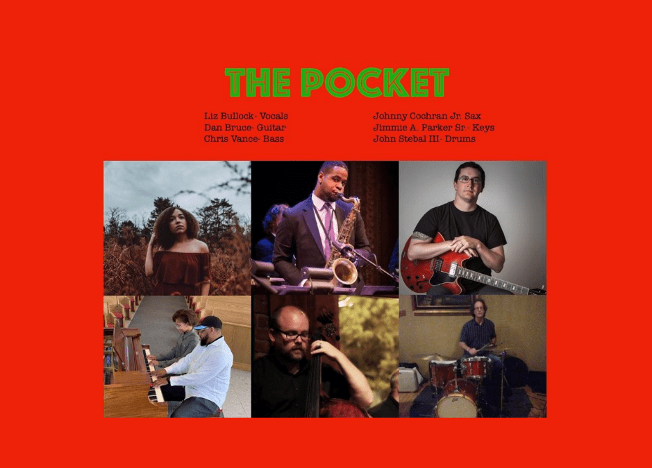The Pocket Brings Funk-Fusion Fun to Virtual Front Porch Concert Series this Friday, August 7